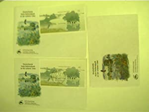 Komplettes Briefmarken-Set: Nationalpark