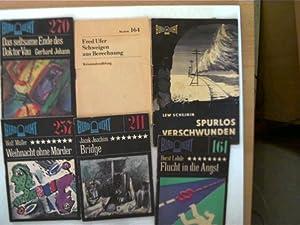 6 Hefte aus der Reihe Blaulicht in: Autorenkollektiv: