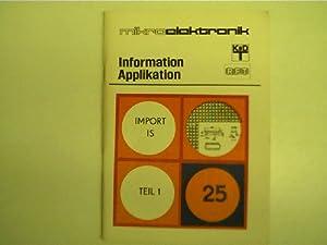 Mikroelektronik - 25 - Import IS, Teil: Autorenkollektiv: