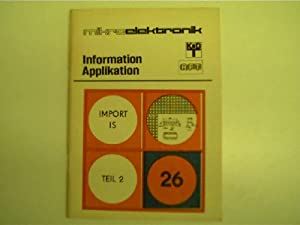 Mikroelektronik - 26 - Import IS, Teil: Autorenkollektiv: