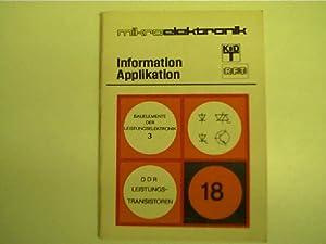 Mikroelektronik - 18 - Bauelemente der Leistungselektronik: Autorenkollektiv: