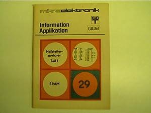 Mikroelektronik - 29 - Halbleiterspeicher Teil 1,: Autorenkollektiv: