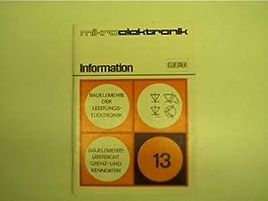 Mikroelektronik - 13 - Bauelemente der Leistungselektronik,: Autorenkollektiv: