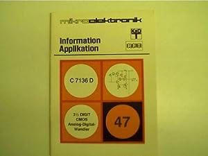 Mikroelektronik - 47 - C 7136 D,: Autorenkollektiv: