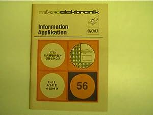 Mikroelektronik - 56 - IS für Farbfernsehempfänger,: Autorenkollektiv: