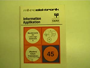 Mikroelektronik - 45 - Bauelemente der Leistungselektronik: Autorenkollektiv: