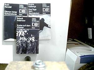 3x DDR - Krimireihe DIE = Delikte,: Adamow, Arkadi, Andris