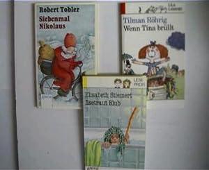 3 Kinder/Jugendbücher aus der Arena Reihe, --------------: Tobler, Robert, Tilman