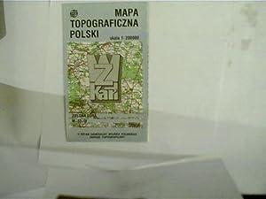 Mapa Topograficzna Polski, Zielona Gora, M-33-IV, (Landkarte: Autorenkollektiv: