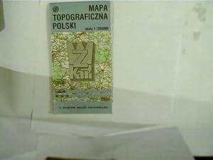 Mapa Topgraficzna Polski, Lublin M-34-XI, Landkarte von: Autorenkollektiv: