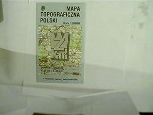 Mapa Topograficzna Polski, Dziwnow i Szeczecin, N-33-XV: Autorenkollektiv: