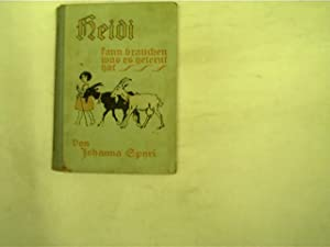 Johanna Spyri - Heidi - First Edition - Seller-Supplied Images