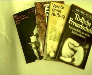 """Sammlung von 4 Kriminalerzählungen, 1.Georg Piltz """": Diverse Autoren:"""