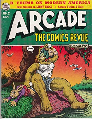 Arcade The Comics Revue Volume Nummer 1- 7. Alles Erschienene.