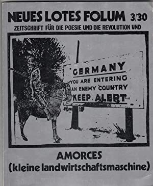 Neues Lotes Folum. Zeitschrift für die Poesie: Höge, Helmut (Hrsg).