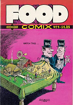 Food Comix Nr.1. [Akira Narita, Fred Schodt, R.Crumb [Mr. Appropriate. Fine 104 only Energy Comic...
