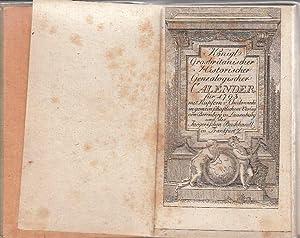 Königl. Grosbritanischer Historischer Genealogischer Calender für 1793.