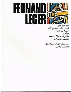 Dal cubismo alla pittura della realtà l'arte: Leger, Fernand: