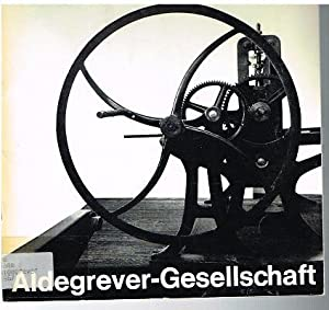 Stipendiaten der Aldegrever-Gesellschaft. Horst Antes, Dieter Haack,: Neue Graphik.