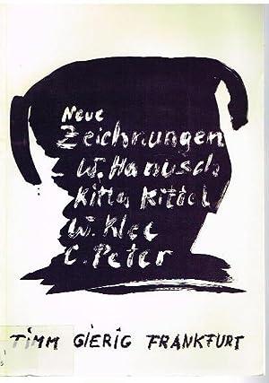 Neue Zeichnungen.: Walter Hanusch. Kitta-Kittel.