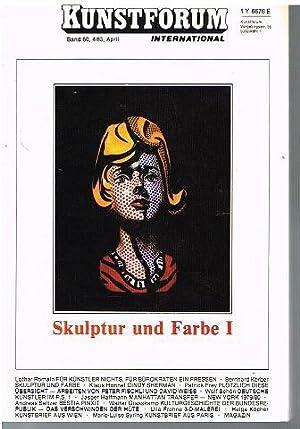 Skulptur und Farbe I.: Kunstforum International. Band