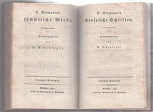 A. Blumauer's Prosaische Schriften: Kistenfeger, A. (Hrsg)