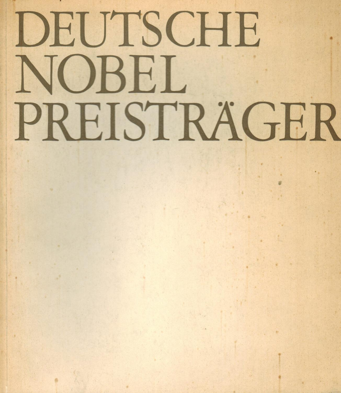 Deutsche Nobelpreisträger Literatur