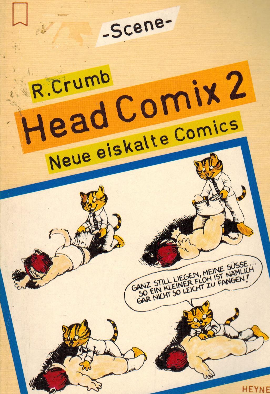 Head Comix 2 - Neue eiskalte Comics: Crumb, Robert