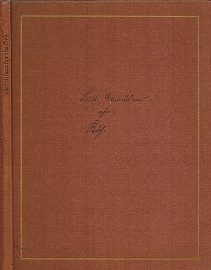 Lütt Marieken ehr Köh. Gezeichnet 1845 für: Klemm, Fritz