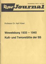 Dokumentation Wewelsburg 1933 - 1945. Kult- und: Hüser, Karl