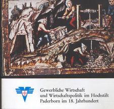 Gewerbliche Wirtschaft und Wirtschaftspolitik im Hochstift Paderborn: Heggen, Alfred