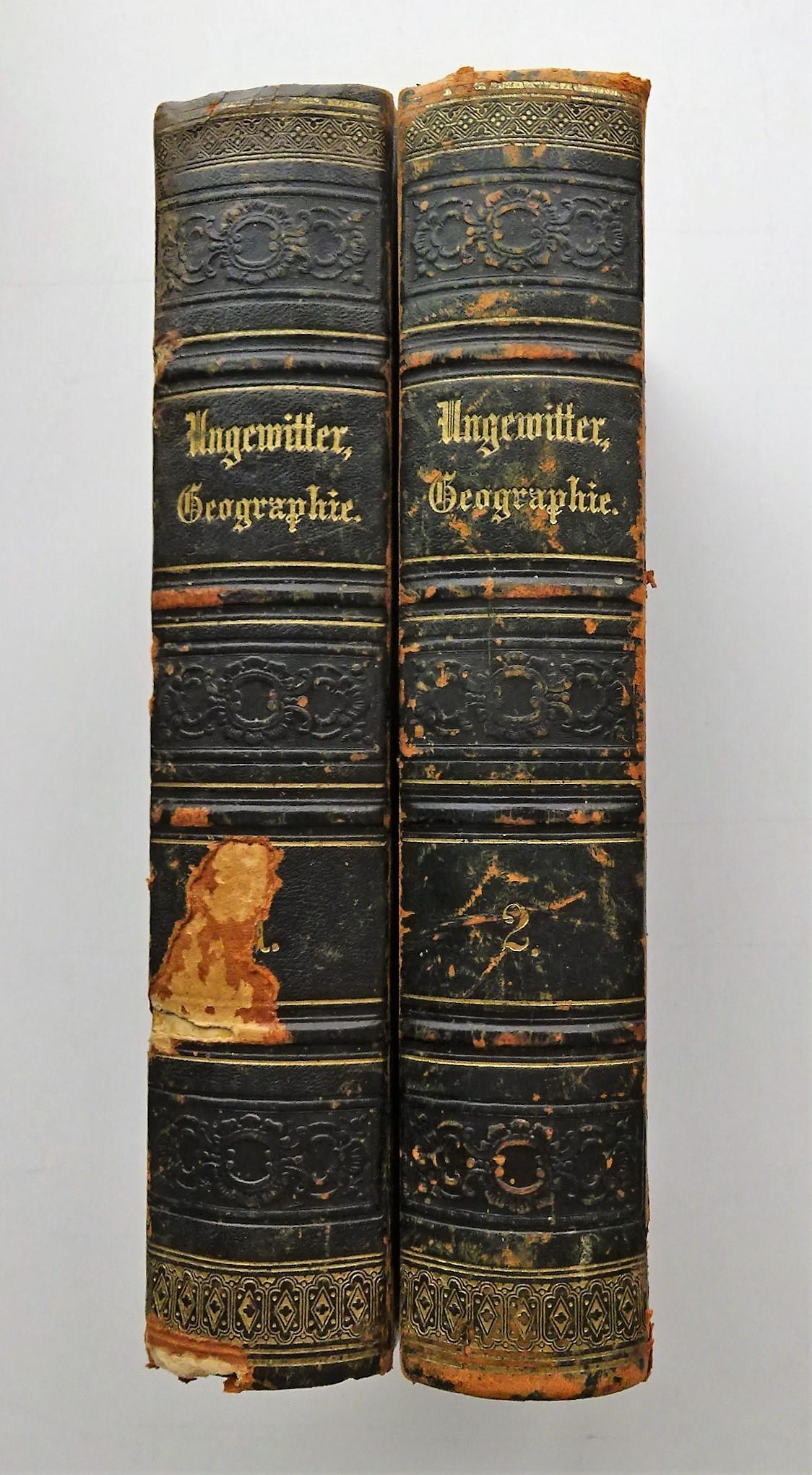 Neueste Erdbeschreibung und Staatenkunde, oder geographisch-statistisch-historisches Handbuch.: Ungewitter, F. H.