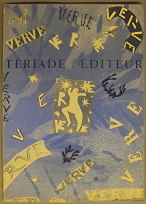 Tériade Editeur - Revue VERVE. Exposition du: Bolliger, Hans