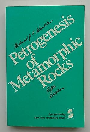 Petrogenesis of Metamorphic Rocks. With figures: Winkler, Helmut G.