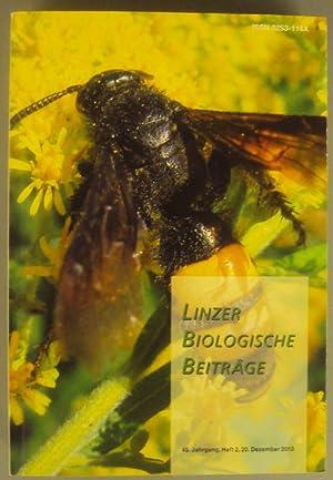 Linzer biologische Beiträge. 45. Jg., H. 2, 20. Dezember 2013. Mit zahlr. Abb. u. ...