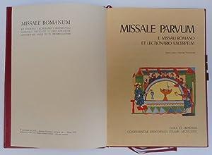 Missale Parvum. E missali romano et lectionario