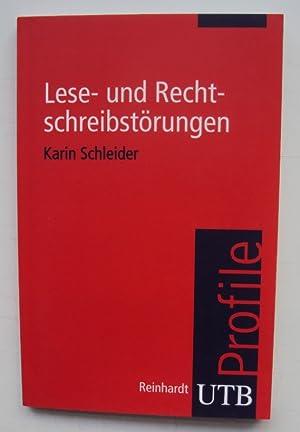Lese- und Rechtschreibstörungen.: Schleider, Karin