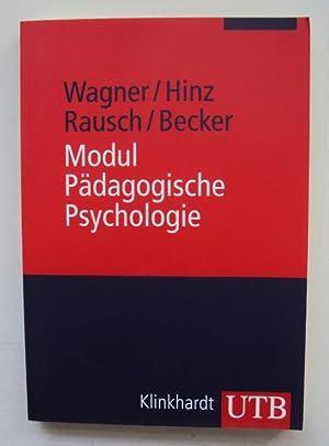 Modul Pädagogische Psychologie.: Wagner, Rudi F. / Hinz, Arnold / Rausch, Adly / Becker, ...
