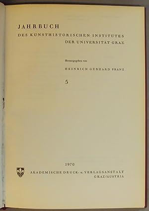 Jahrbuch des kunsthistorischen Institutes der Universität Graz: Franz, Heinrich Gerhard