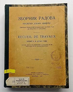 Sbornik radova / Recueil de Travaux. Offert