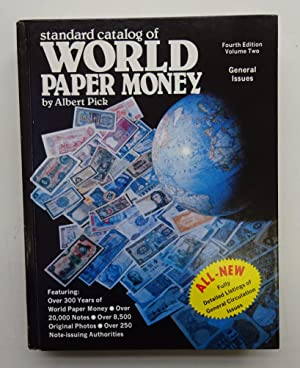 World Paper Money. General Issues. Volume 2.: Pick, Albert