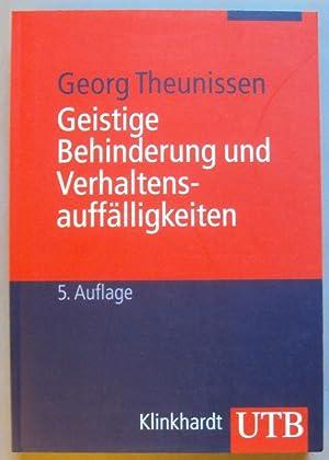 Geistige Behinderung und Verhaltensauffälligkeiten. Ein Lehrbuch für die Schule, Heilp&...