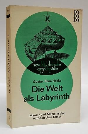 hocke die welt als labyrinth AbeBooks