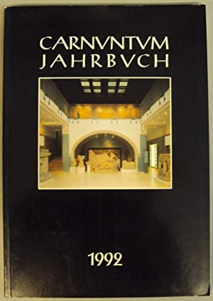 Carnuntum Jahrbuch 1992. Zeitschrift für Archäologie und Kulturgeschichte des Donauraumes...
