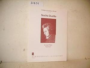 Sechs Duette für zwei Flöten Heft 1: Mozart edit Wilhelm
