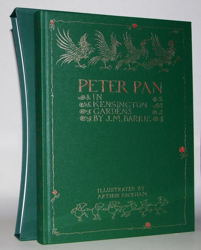 Peter Pan in Kensington Gardens. From the: Barrie, James Matthew