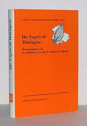 Die Vogelwelt Thüringens - Bezirke Bezirke Erfurt,: Knorre, D. v.;