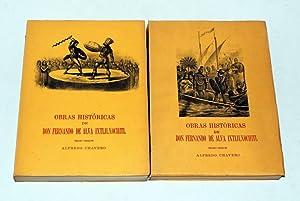 Obras historicas de Don Fernando de Alva: Chavero, Alfredo (Hrsg.).