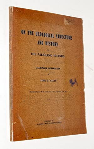 On the geological structure and history of the Falkland Islands. Academical dissertation.