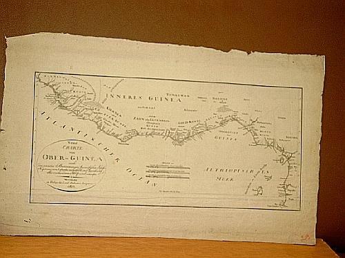 Neue Charte von Ober-Guinea nach den neuesten: Labarthe, P.
